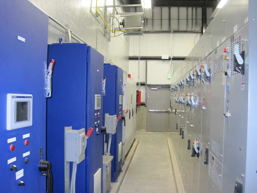 Kuna WWTP Electrical Room